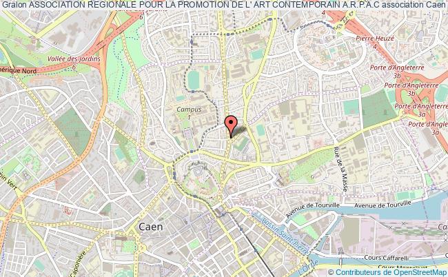 plan association Association Regionale Pour La Promotion De L' Art Contemporain A.r.p.a.c