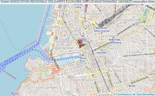 plan association Association Regionale Solidarite Economie Emploi Mediterranee (seemed) Marseille