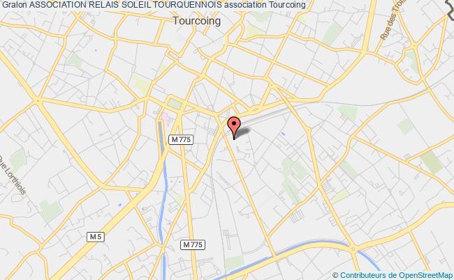 plan association Association Relais Soleil Tourquennois
