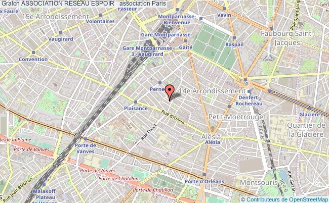 plan association Association Reseau Espoir +