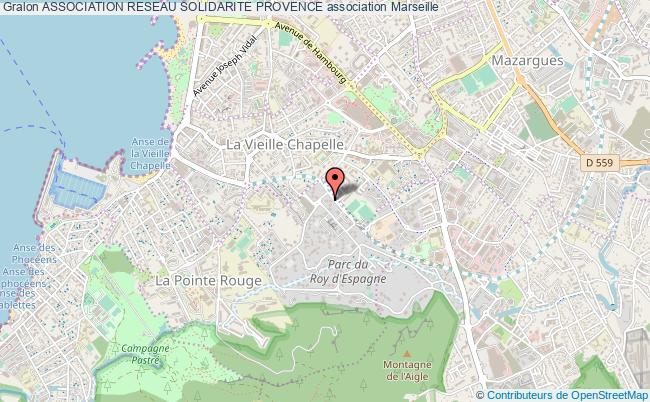 plan association Association Reseau Solidarite Provence