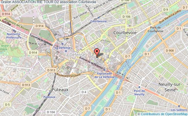 plan association Association Rie Tour D2 Courbevoie