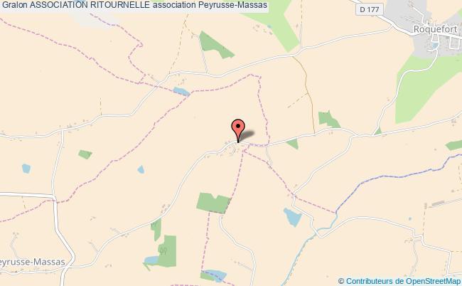 plan association Association Ritournelle Peyrusse-Massas