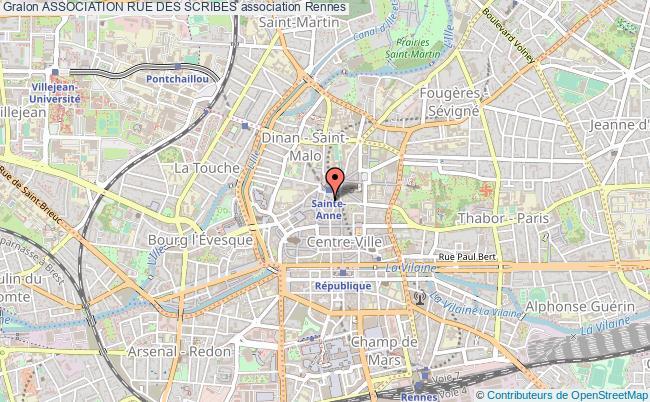 plan association Association Rue Des Scribes