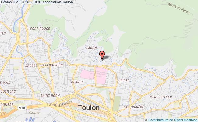 plan association Association Rugby Club La Valette, Le Revest, La Garde, Le Pradet