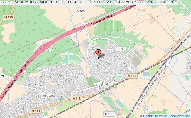 plan association Association Saint-bresoise De Judo Et Sports Associes (asbjsa)