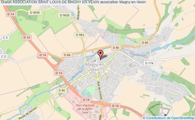 plan association Association Saint Louis De Magny En Vexin Magny-en-Vexin