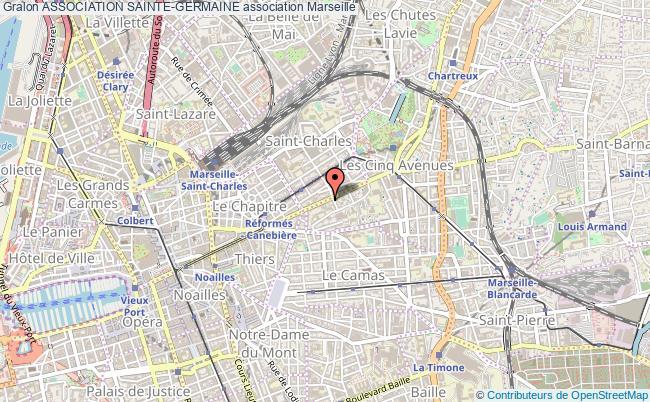 plan association Association Sainte-germaine Marseille