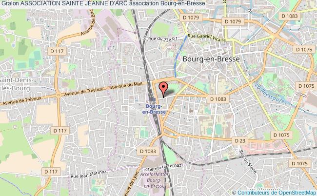 plan association Association Sainte Jeanne D'arc