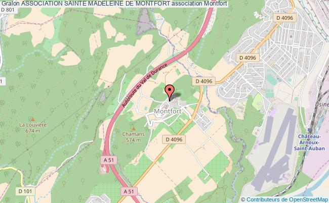 plan association Association Sainte Madeleine De Montfort