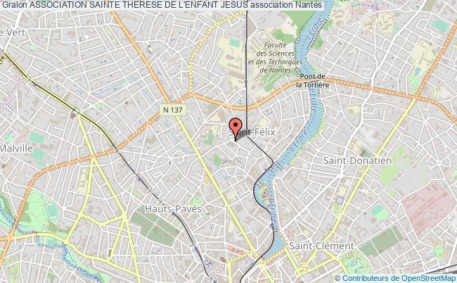 plan association Association Sainte Therese De L'enfant Jesus