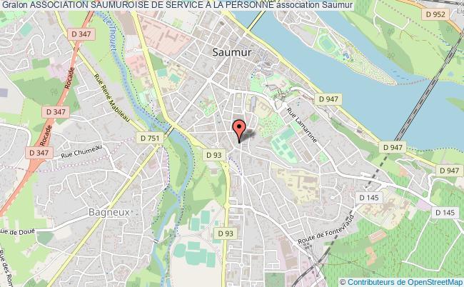 plan association Association Saumuroise De Service A La Personne
