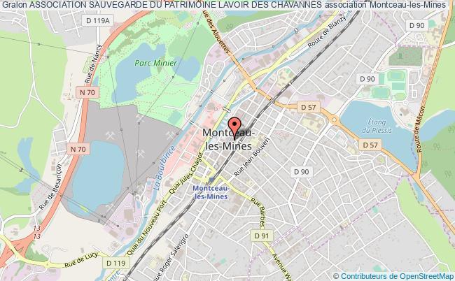 plan association Association Sauvegarde Du Patrimoine Lavoir Des Chavannes