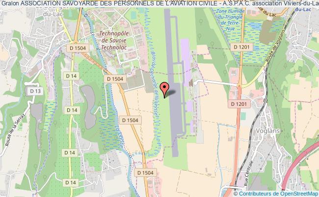 plan association Association Savoyarde Des Personnels De L'aviation Civile - A.s.p.a.c. Viviers-du-Lac