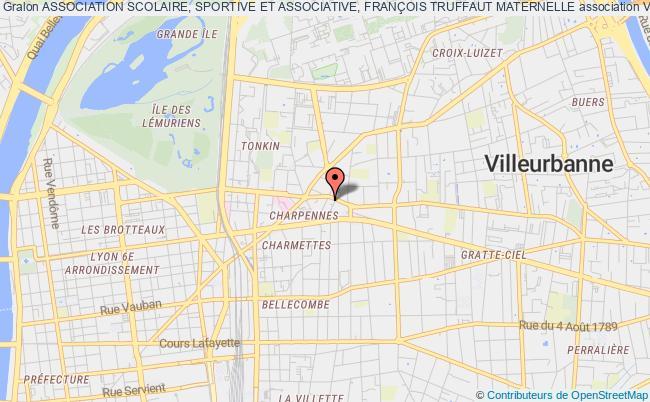 plan association Association Scolaire, Sportive Et Associative, FranÇois Truffaut Maternelle