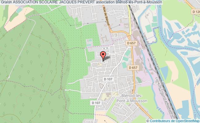 plan association Association Scolaire Jacques Prevert