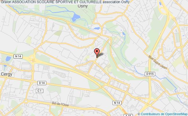 plan association Association Scolaire Sportive Et Culturelle Osny
