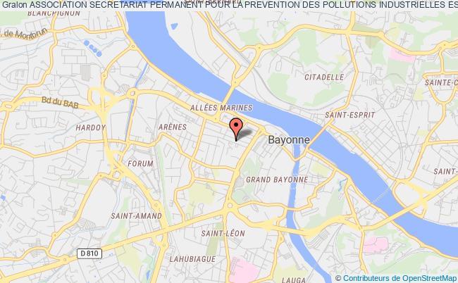 plan association Association Secretariat Permanent Pour La Prevention Des Pollutions Industrielles Estuaire De L'adour