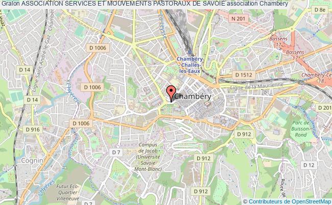 plan association Association Services Et Mouvements Pastoraux De Savoie