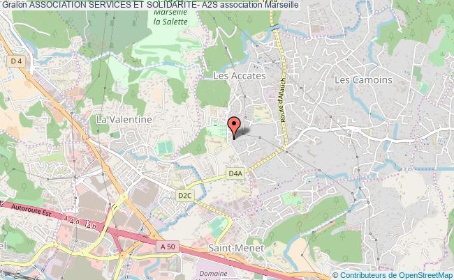 plan association Association Services Et Solidarite- A2s Marseille