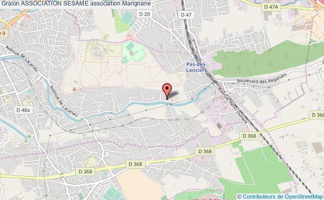 plan association Association Sesame Marignane