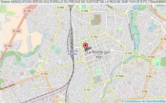 plan association Association Socio-culturelle Du Palais De Justice De La Roche Sur Yon (a.s.p.l.) La    Roche-sur-Yon