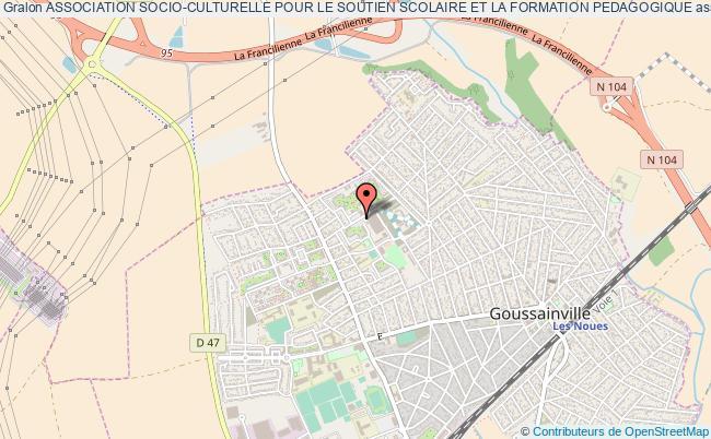 plan association Association Socio-culturelle Pour Le Soutien Scolaire Et La Formation Pedagogique Goussainville