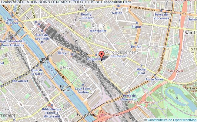 plan association Association Soins Dentaires Pour Tous Sdt Paris