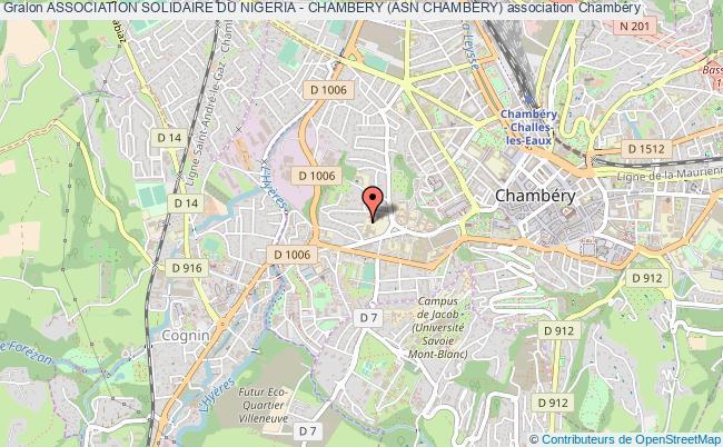 plan association Association Solidaire Du Nigeria - Chambery (asn Chambery)