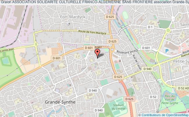 plan association Association Solidarite Culturelle Franco-algerienne Sans Frontiere