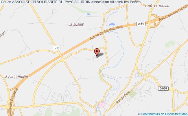 plan association Association Solidarite Du Pays Sourdin Villedieu-les-Poêles
