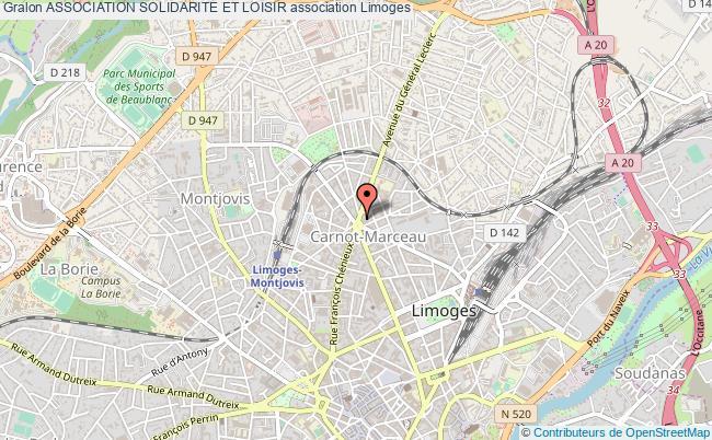 plan association Association Solidarite Et Loisir