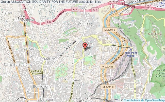 plan association Association Solidarity For The Future Nice