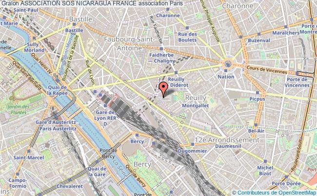 plan association Association Sos Nicaragua France Paris