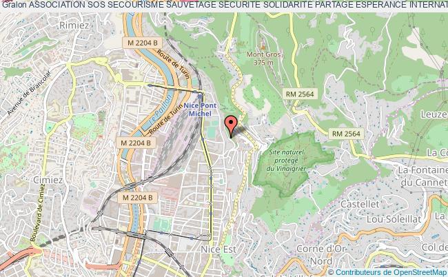 plan association Association Sos Secourisme Sauvetage Securite Solidarite Partage Esperance International Au Service De La Personne      (asos6smonde)