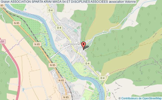 plan association Association Sparta Krav Maga 04 Et Disciplines AssociÉes