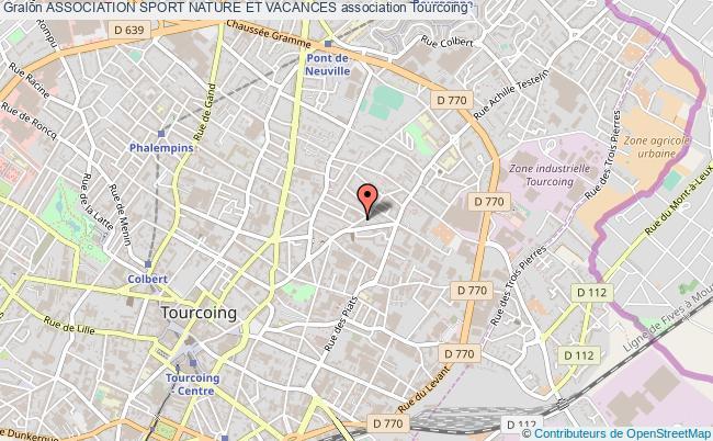 plan association Association Sport Nature Et Vacances