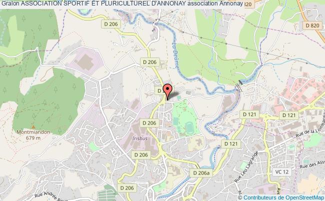 plan association Association Sportif Et Pluriculturel D'annonay