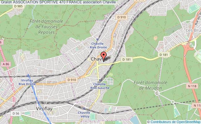 plan association Association Sportive 470 France