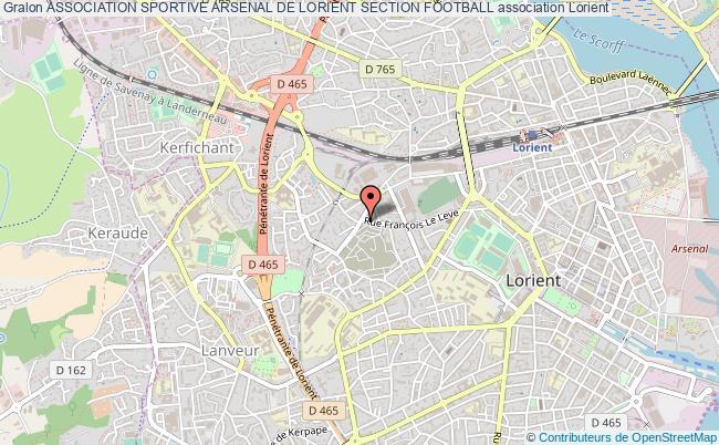 plan association Association Sportive Arsenal De Lorient Section Football