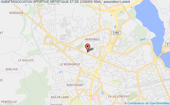 plan association Association Sportive Artistique Et De Loisirs 'asal'