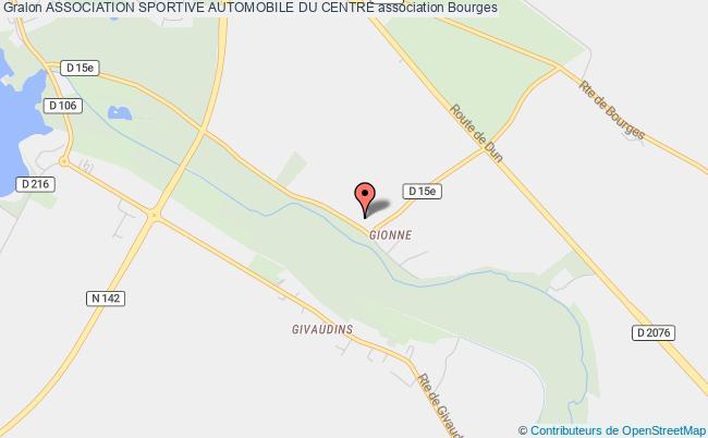 plan association Association Sportive Automobile Du Centre Bourges
