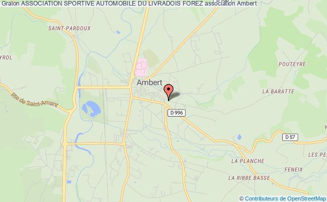 plan association Association Sportive Automobile Du Livradois Forez Ambert