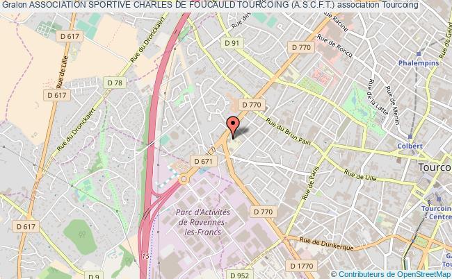 plan association Association Sportive Charles De Foucauld Tourcoing (a.s.c.f.t.) Tourcoing