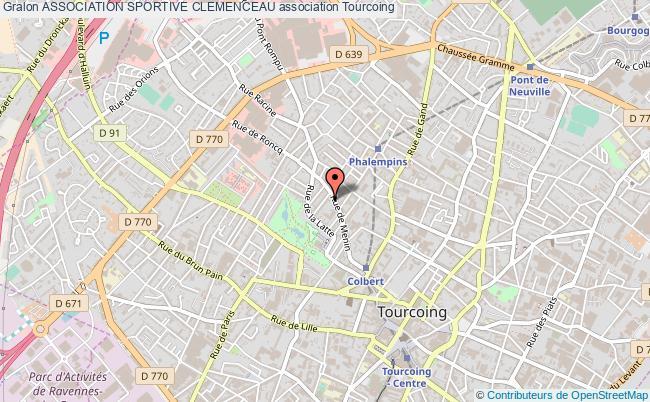 plan association Association Sportive Clemenceau