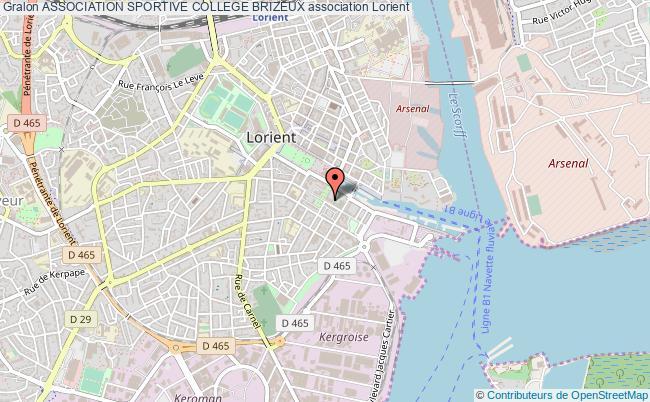 plan association Association Sportive College Brizeux