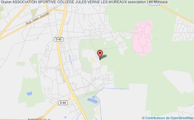 plan association Association Sportive College Jules Verne Les Mureaux Les   Mureaux