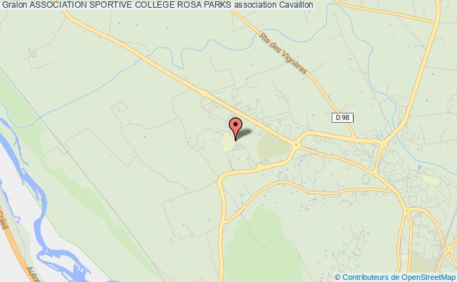 plan association Association Sportive College Rosa Parks