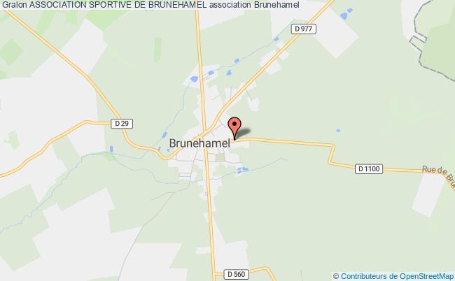 plan association Association Sportive De Brunehamel