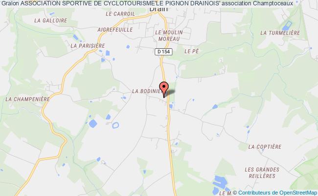plan association Association Sportive De Cyclotourisme'le Pignon Drainois'
